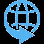 arrow-globe