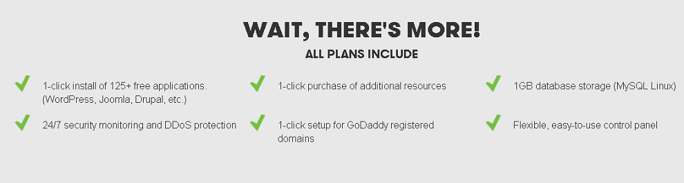 GoDaddy Features
