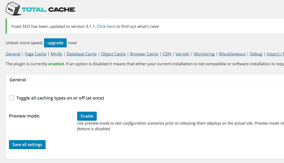 Setup and Install W3 Total Cache on Your Website