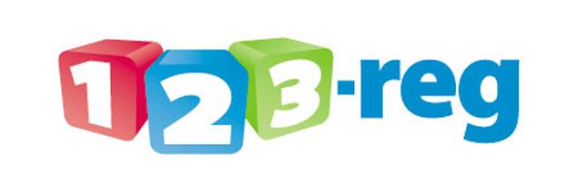 123 Reg Web Hosting Logo