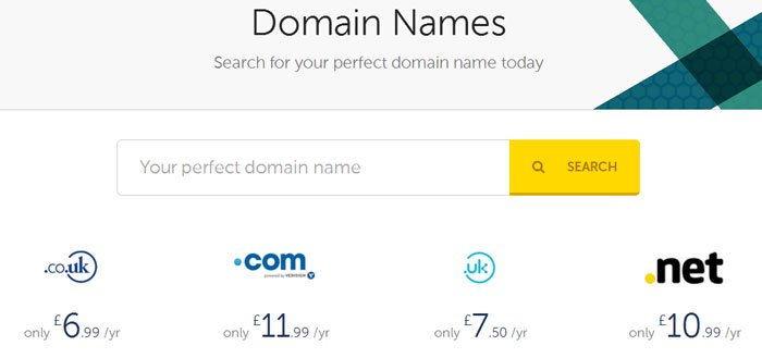 Heart Internet Domain Names