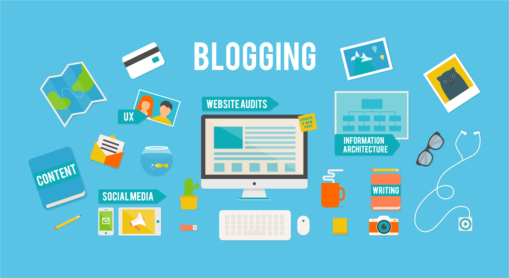 5 Reasons to Start a Blog Today