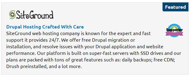 drupal-siteground
