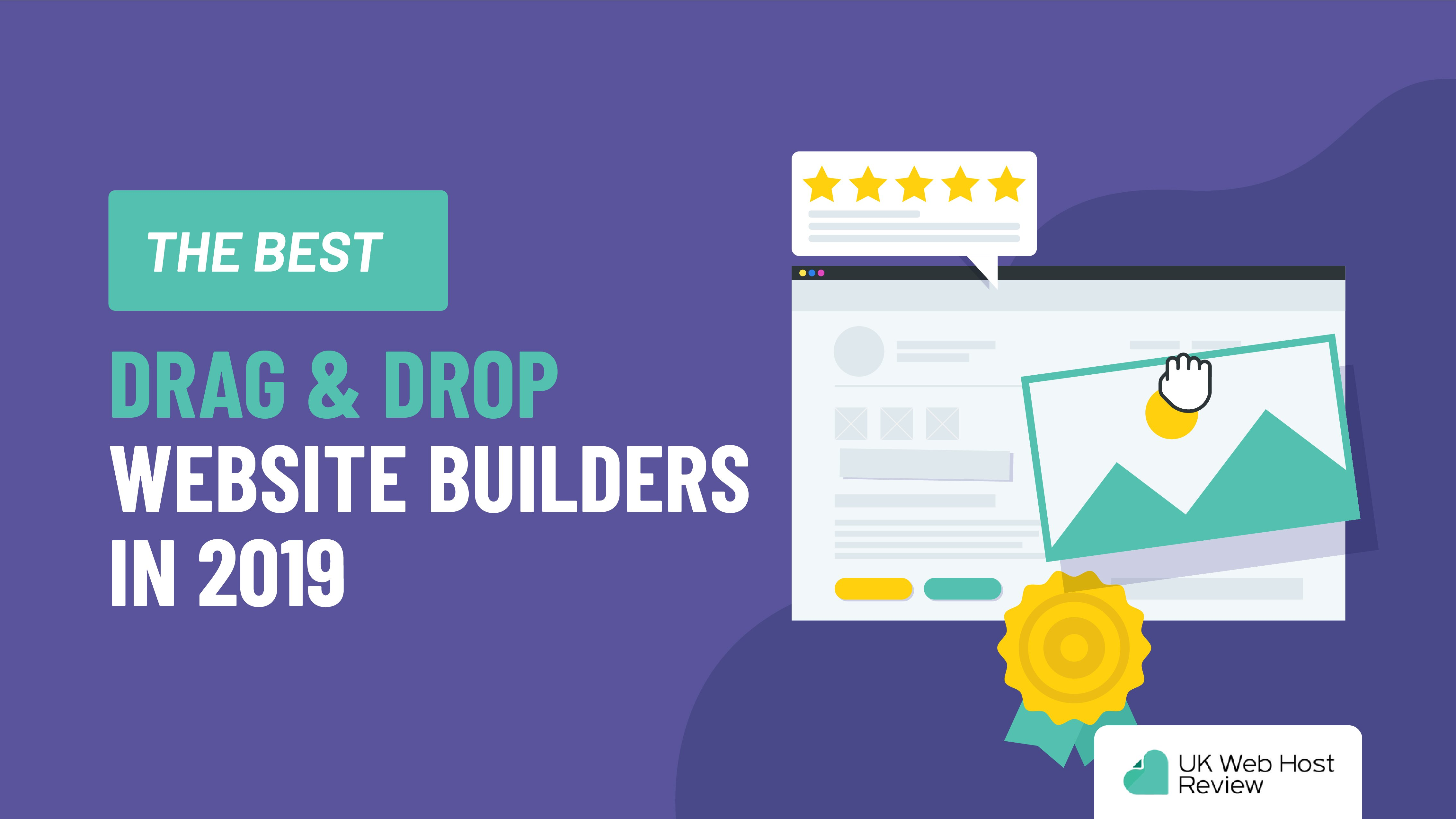 The Best Drag & Drop Website Builders in 2019