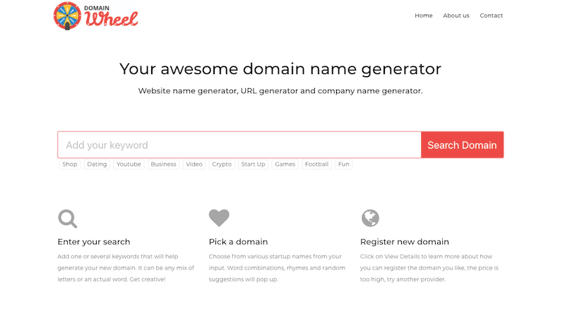 20+ Best Domain Name Generators (Get Instant Ideas for 2019)