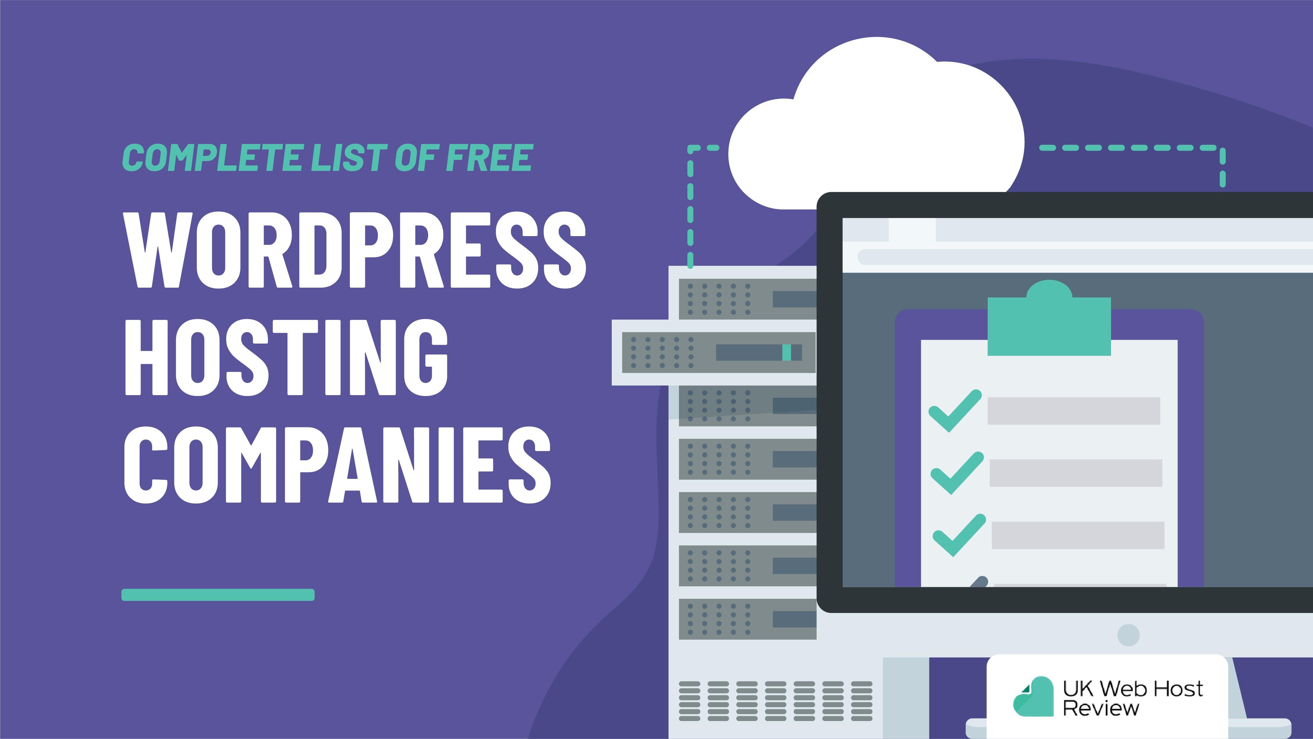 7 Best Free WordPress Hosting Companies of 2021