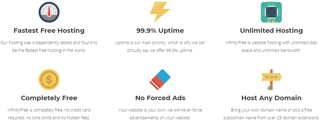 InfinityFree Web Hosting