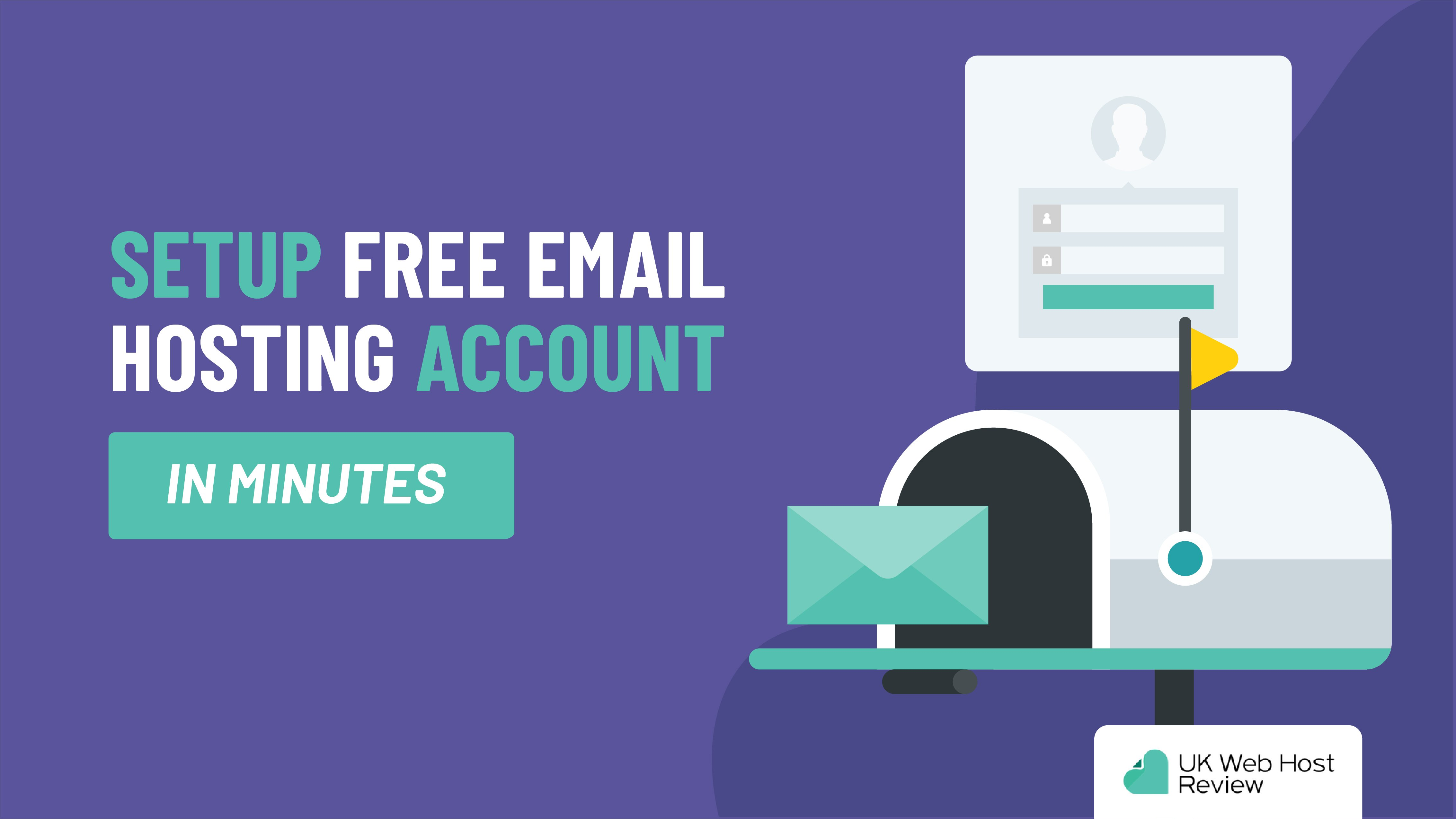 Setup Free Email Hosting Account in Minutes