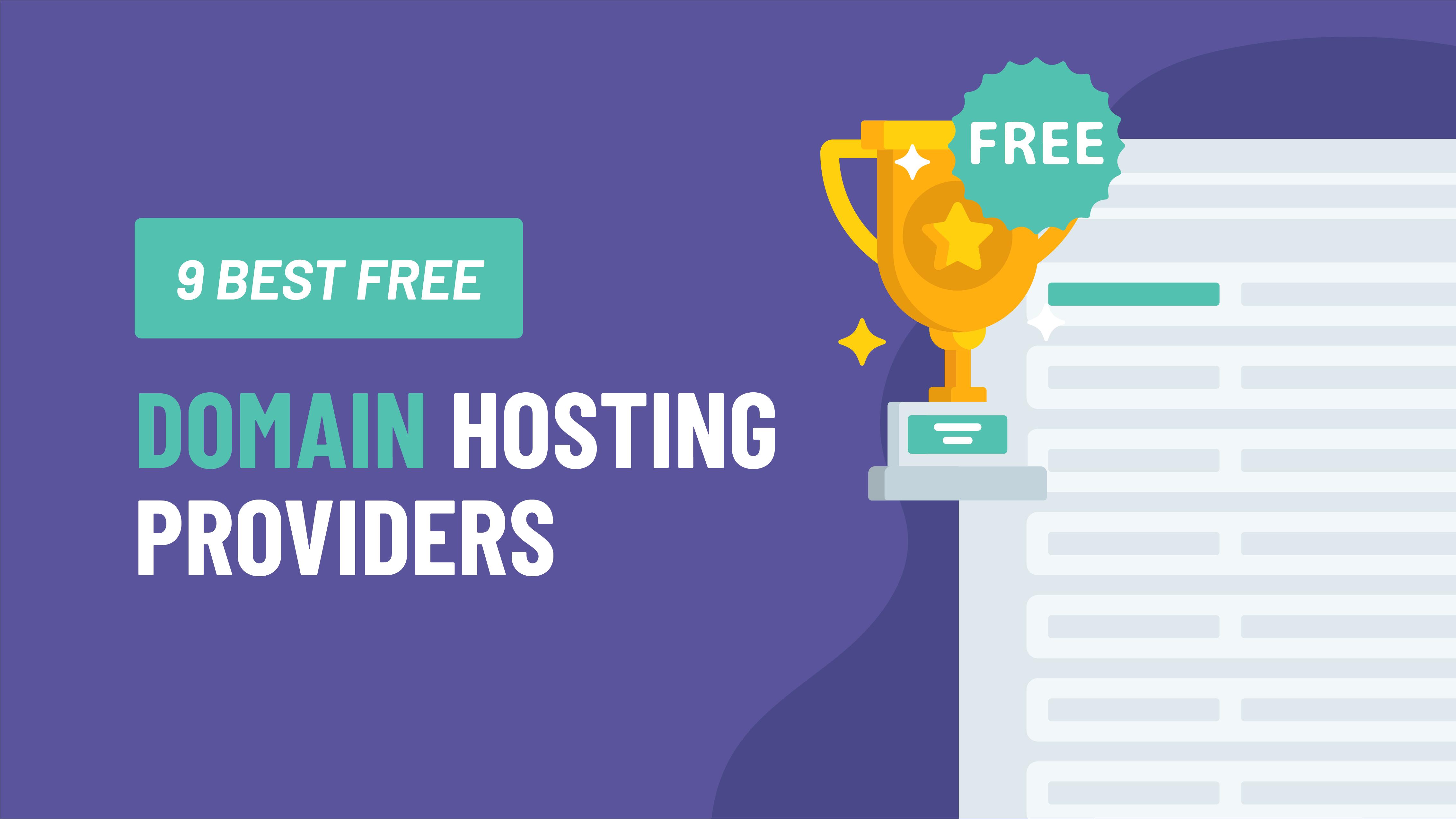 9 Best Free Domain Hosting Providers