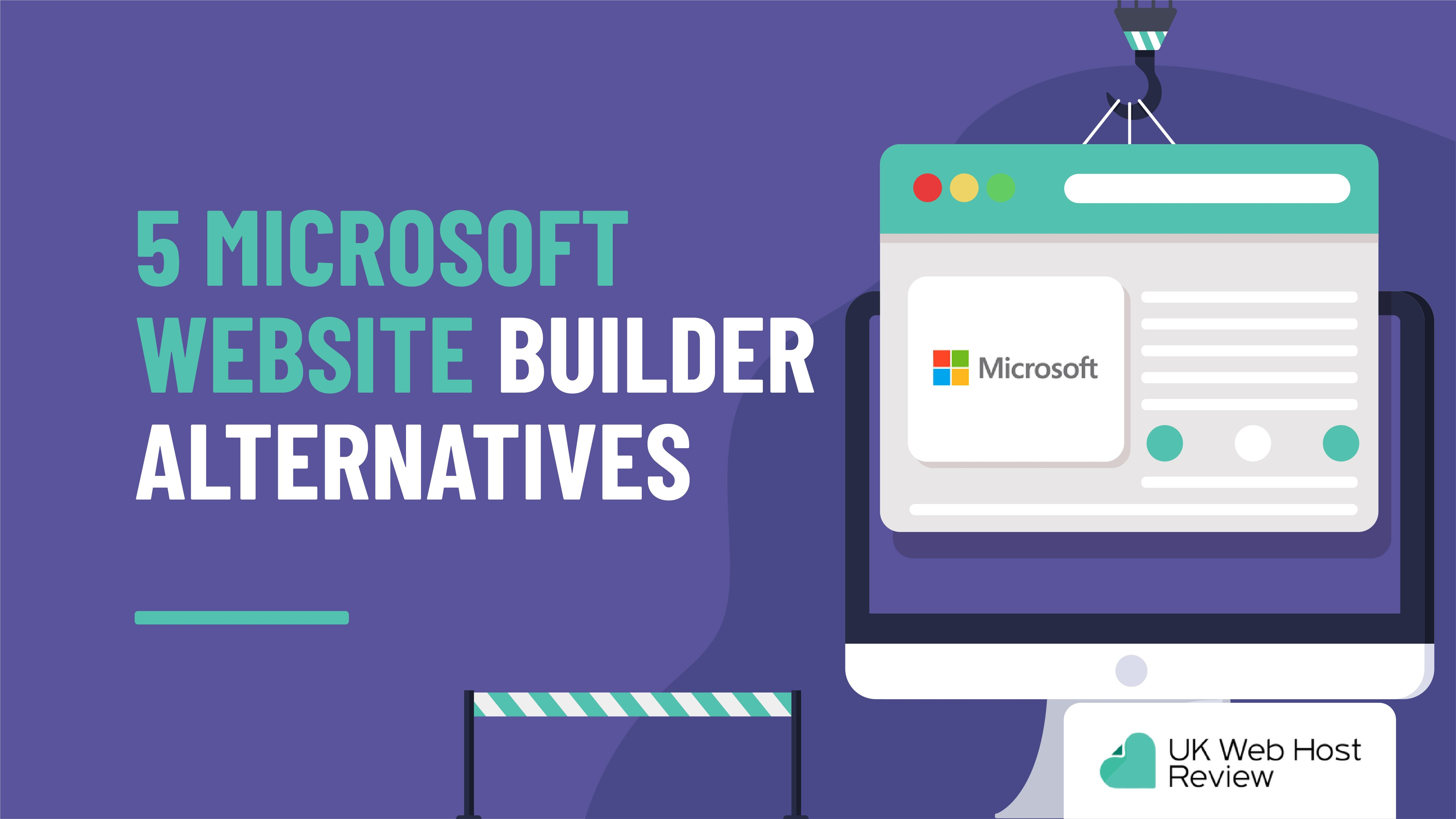 Microsoft Website Builder – 5 Alternative Options