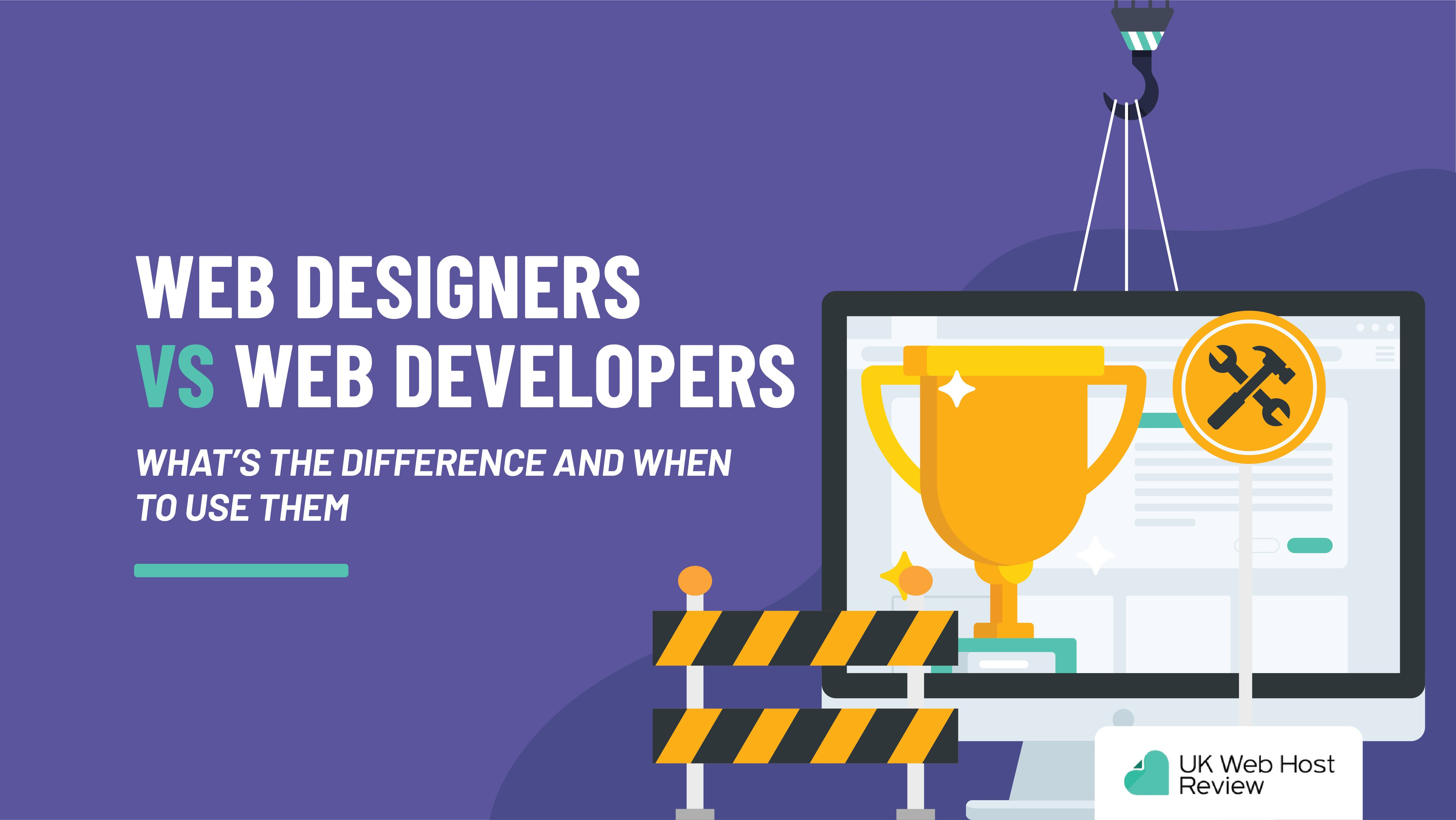 Web Designers Vs Web Developers: What's the Difference?
