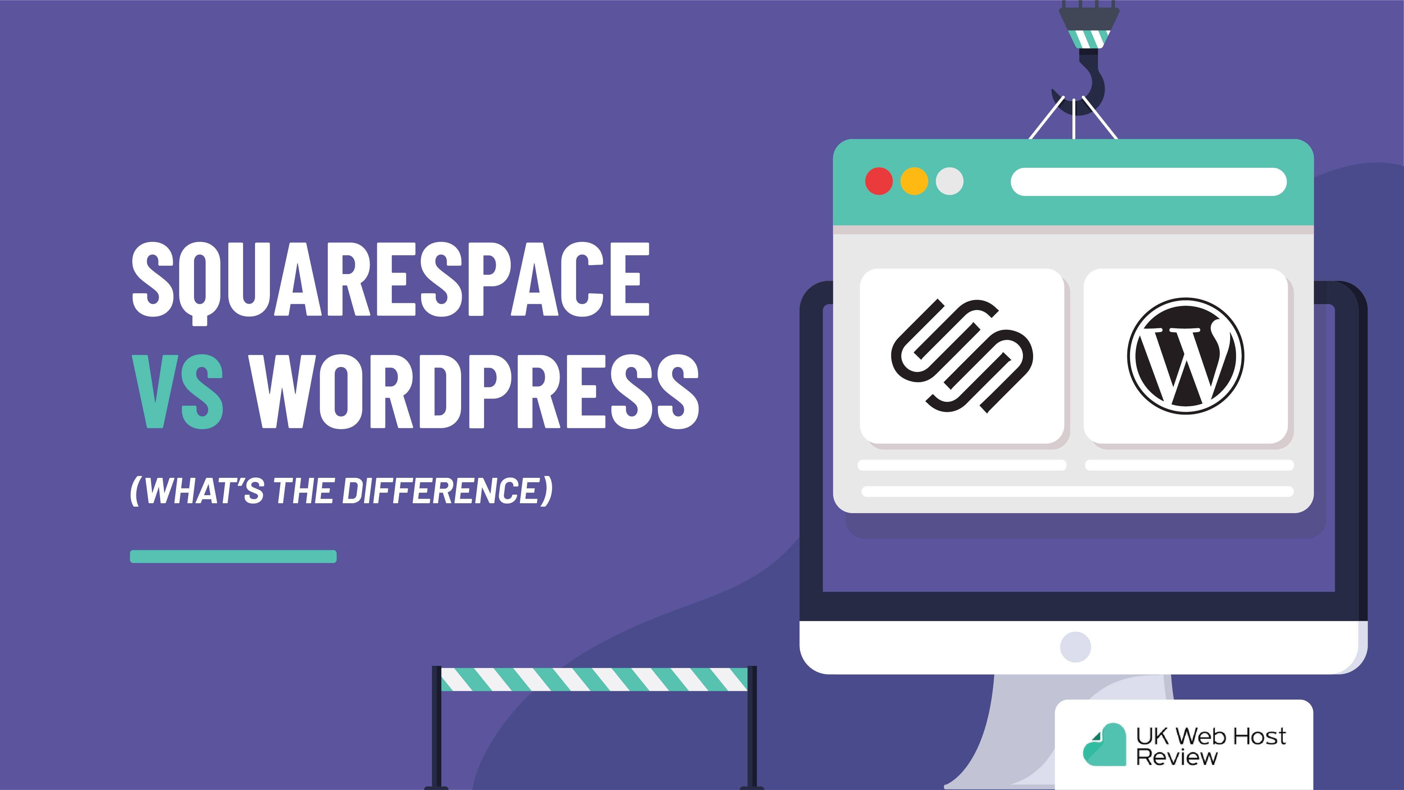 SquareSpace vs WordPress (What's the Difference)