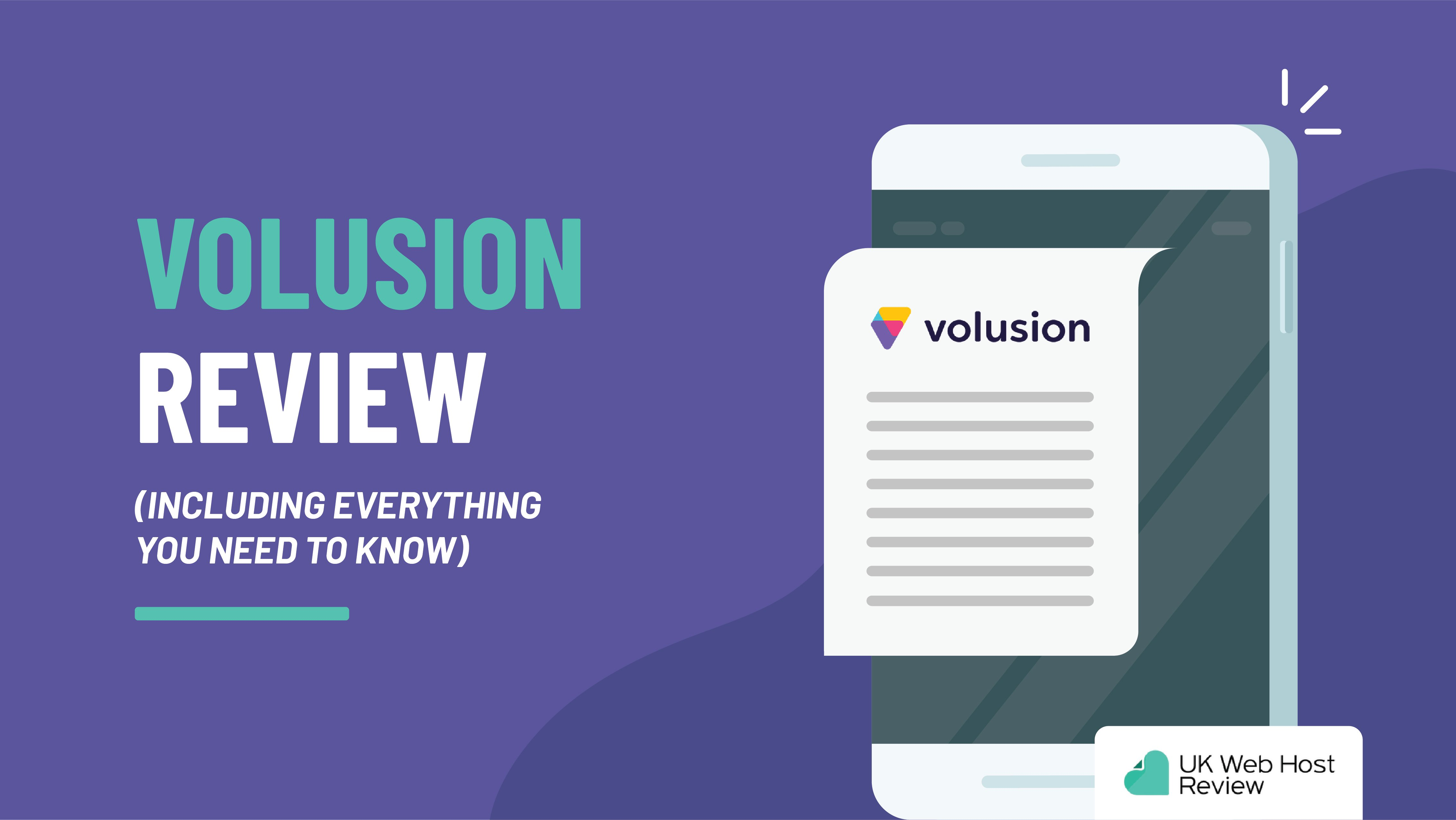 Volusion Review (Including Everything You Need to Know)