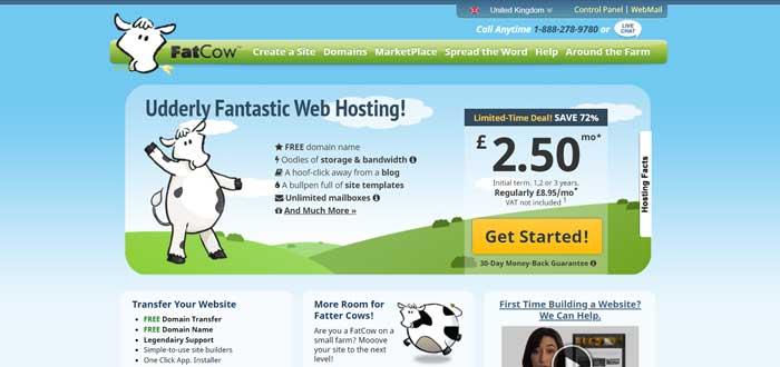 fatcow uk web hosting
