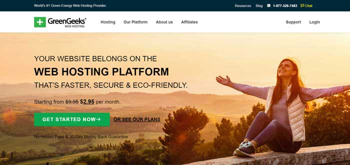 greengeeks uk web hosting