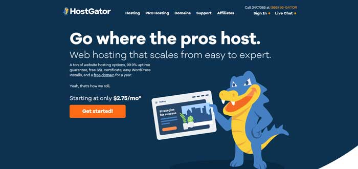 hostgator uk web hosting