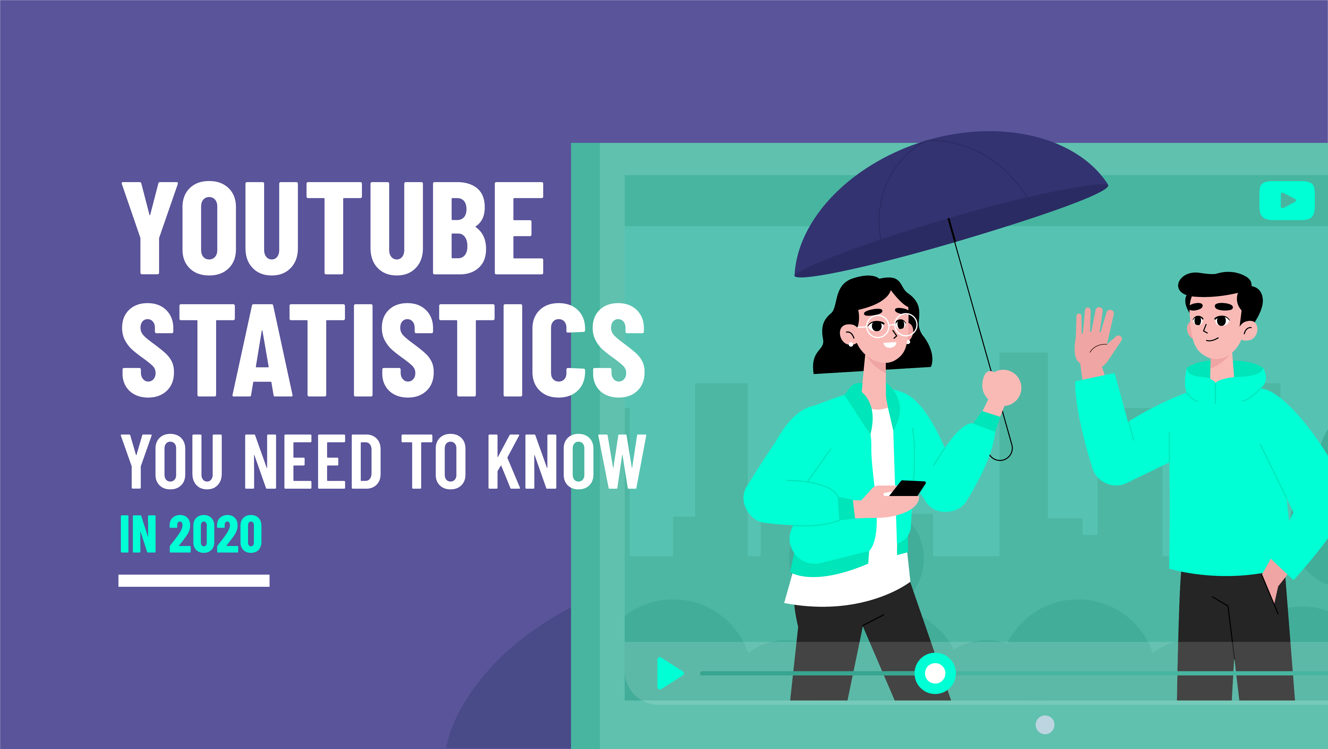 56+ Need To Know YouTube Statistics in 2021 [INFOGRAPHIC]